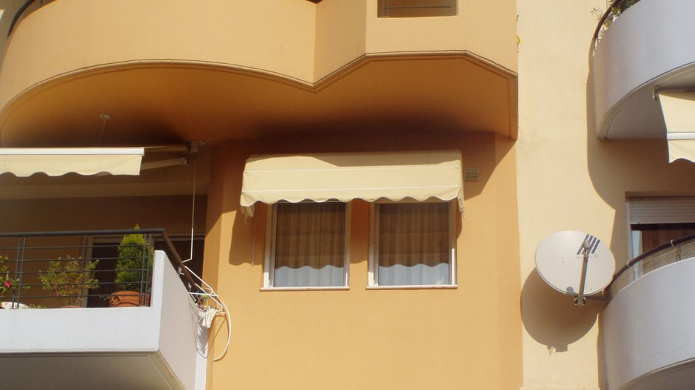 BASKET AWNING – CURVED AWNING